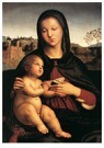 Rafaël Sanzio (1483-1520)  -  Madonna And Child - Postkaart -  A20003-1