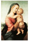 Rafaël Sanzio (1483-1520)  -  Madonna And Child (The Tempi Madonna) - Postkaart -  A20004-1
