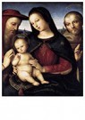 Rafaël Sanzio (1483-1520)  -  Madonna With Child And Saints - Postkaart -  A20007-1