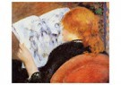 Auguste Renoir (1841-1919)  -  Young Woman Reading An Illustrated Journal - Postkaart -  A20023-1