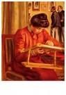 Auguste Renoir (1841-1919)  -  Christine Lerolle Embroidering - Postkaart -  A20035-1