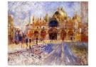 Auguste Renoir (1841-1919)  -  The Piazza San Marco Venice - Postkaart -  A20036-1
