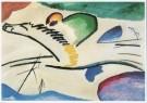 Vassily Kandinsky (1866-1944)  -  Lyrisch, Lyrical, 1911 - Postkaart -  A2004-1