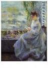 Auguste Renoir (1841-1919)  -  Madame Chocquet Reading - Postkaart -  A20088-1