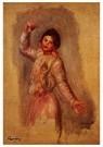 Auguste Renoir (1841-1919)  -  Dancer With Castenets - Postkaart -  A20119-1