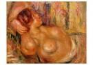 Auguste Renoir (1841-1919)  -  Femme A La Poitrine Nue Endormie - Postkaart -  A20126-1