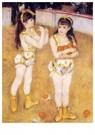 Auguste Renoir (1841-1919)  -  Acrobats At The Cirque Fernando Aka Francisca And Angelina - Postkaart -  A20139-1