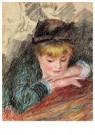 Auguste Renoir (1841-1919)  -  The Loge - Postkaart -  A20157-1