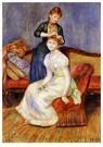 Auguste Renoir (1841-1919)  -  The Coiffure - Postkaart -  A20303-1