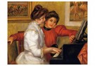 Auguste Renoir (1841-1919)  -  Young Girls At The Piano - Postkaart -  A20505-1