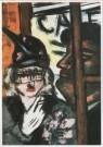 Max Beckmann (1884-1950)  -  Artiestentencafe - Postkaart -  A2066-1