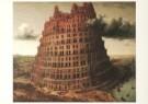 P. Bruegel de Oude (1525-1569) -  De toren van Babel - Postkaart -  A2081-1