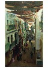 Ilya Repin (1844-1930)  -  Street Of The Snakes In Seville 1883 - Postkaart -  A20856-1