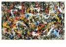 Jackson Pollock (1912-1956)  -  Convergence - Postkaart -  A2089-1