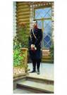 Ilya Repin (1844-1930)  -  Portrait Of Emperor Nicholas Ii  1894 - Postkaart -  A20918-1