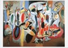 Arshile  Gorky (1904-1948)  -  The Liver is the Cock's Comb - Postkaart -  A2093-1