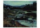 Ilya Repin (1844-1930)  -  Landscape With Boat, 1875 - Postkaart -  A20976-1