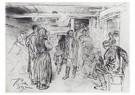 Ilya Repin (1844-1930)  -  Putting A Propagandist Under Arrest, 1879 - Postkaart -  A21007-1