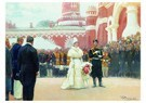 Ilya Repin (1844-1930)  -  Speech Of His Imperial Majesty On May 18, 1896 ,,1897 - Postkaart -  A21070-1
