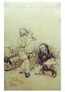 Ilya Repin (1844-1930)  -  Pushkin At Karl Bryullov'S,1912 - Postkaart -  A21090-1