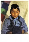 Robert Henri(1865-1929)  -  Little Indian - Postkaart -  A21100-1
