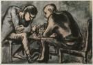 Arnold Reemer (1925-1981)  -  Schakers, 1965 - Postkaart -  A2123-1
