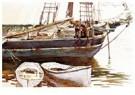 John Singer Sargent(1856-1925) -  Schooner, Catherine, Somesville, Maine - Postkaart -  A21311-1