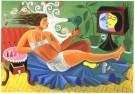 Milan Kunc (1944)  -  La Toilette - Postkaart -  A2132-1