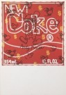 Keith Haring (1858-1990)  -  Untitled (New Coke) - Postkaart -  A2155-1