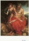 Anthony van Dijck (1599-1641)  -  De H. Hieronymus, St. Jerome, ca. 1618-20 - Postkaart -  A2190-1