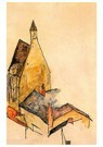 Egon Schiele(1890-1918)  -  Hospital Church, Molding - Postkaart -  A21968-1