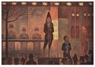 Georges Seurat(1859-1891)  -  Circus Sideshow - Postkaart -  A22012-1