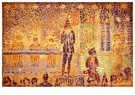 Georges Seurat(1859-1891)  -  Invitation To The Sideshow (Study),1888 - Postkaart -  A22015-1
