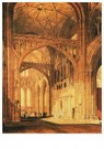 William Turner(1775-1851)  -  St Erasmus in bisschop Islips Chapel Westminster Abbey - Postkaart -  A22329-1