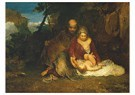 William Turner(1775-1851)  -  The Holy Family - Postkaart -  A22362-1