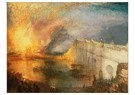 William Turner(1775-1851)  -  The Burning Of The Houses Of Parliament - Postkaart -  A22385-1