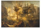 William Turner(1775-1851)  -  The Battle Of Trafalgar, As Seen From The From The Victory - Postkaart -  A22522-1