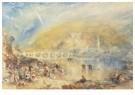 William Turner(1775-1851)  -  Heidelberg With A Rainbow - Postkaart -  A22532-1