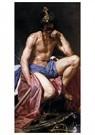 Diego Velázquez(1599-1660)  -  Mars, God Of War C. 1640 - Postkaart -  A22605-1