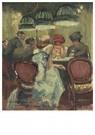 Walter Sickert(1860-1942)  -  Baccarat - Postkaart -  A22723-1