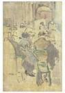 Walter Sickert(1860-1942)  -  Café Interior, Baccarat, Dieppe - Postkaart -  A22725-1