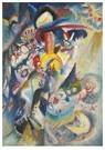 Wassily Kandinsky(1866-1944)  -  Moskau Ii (Moscow Ii) - Postkaart -  A22795-1