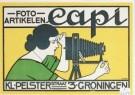 J.G.van Caspel (1870-1926)  -  Foto-artikelen Capi, ca. 1923 - Postkaart -  A2286-1