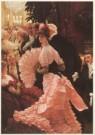James Jacques Joseph Tissot (1 -  The Reception, ca. 1883-85 - Postkaart -  A2291-1