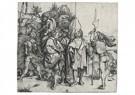Albrecht Dürer (1471-1528)  -  Five Soldiers And A Turk On Horseback - Postkaart -  A23415-1