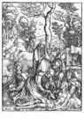 Albrecht Dürer (1471-1528)  -  The Lamentation, From The Large Passion - Postkaart -  A23741-1