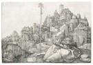 Albrecht Dürer (1471-1528)  -  St. Anthony Reading - Postkaart -  A23866-1