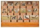 Cornelis Jetses (1873-1955)  -  Leesplankje (Aap, Noot, Mies) - Postkaart -  A2426-1