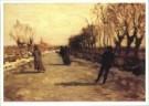 Willem Bastiaan Tholen 1860-1  -  Winterlandschap met schaatsenrijders, 1905 - Postkaart -  A2434-1