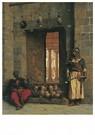 Jean-Léon Gérôme(1824-1904)  -  La Porte De La Mosquée El-Hasanein Au Caire Où Furent Exposé - Postkaart -  A24817-1